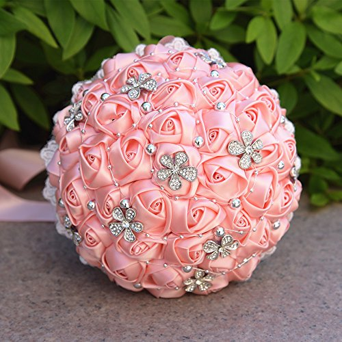 �igkeiten Geschenk Boxen Party Favor Boxen mit einzigartige Blume für Brautschmuck und Baby Dusche, Zinn, Pink, Diameter of 2.75