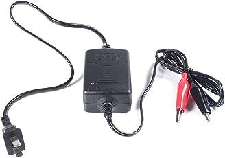 Carica batterie Mantenitore, 12V, completamente automatico, Smart caricabatterie per batterie al piombo acido e gel batterie caricatore automatico Full automatico auto/furgone/Moto Intelligent Battery charger