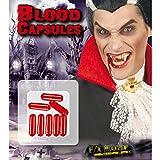 Kunstblut Blutkapseln Filmblut Theaterblut Halloween Grusell Schminke Blut Kapseln Fasching Karneval
