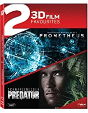 3D Collection - 2 Movies: Prometheus (Blu-ray 3D) + Predator (Blu-ray 3D)