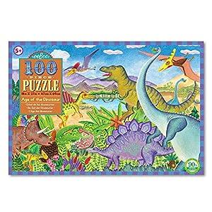 eeBoo-Puzzle 100Piezas Dinosaurios