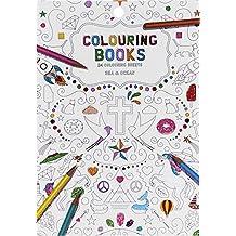 Libro para colorear para adultos, 24Páginas, motivos: Mar & Océano