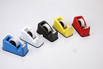A.S ENTERPRISES MHK Tango Mini 1\2-inch Tape Dispenser with Roll (Colour May Vary)