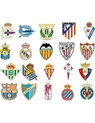 Pack 20 Espagne league autocollants
