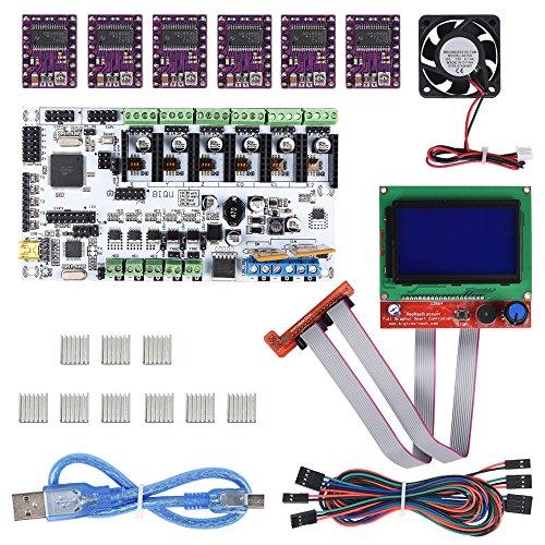 Drucker-board (Rumba-Board für 3D RepRap Drucker von PoPprint, 40 x 40 x 15 mm, 12 V)