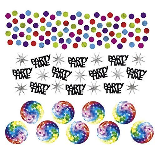 34g Deko Konfetti 70er Jahre Hippie Party Tischkonfetti Bunte Dekokonfetti Disco Partykonfetti Geburtstag (Hippie 70er Jahre)
