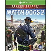 Watch Dogs 2: Deluxe Edition (Includes Extra Content) - Xbox One Ubisoft