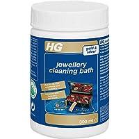 HG 437030106 Looks Shiny Cleaning Bath 300 ml Dress Jewellery, White, 300ml