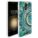 Dooki, Aquaris U Plus Caso, Slim anti-choque TPU gel de goma flexible funda protectora suave para BQ Aquaris U Plus (D-04)