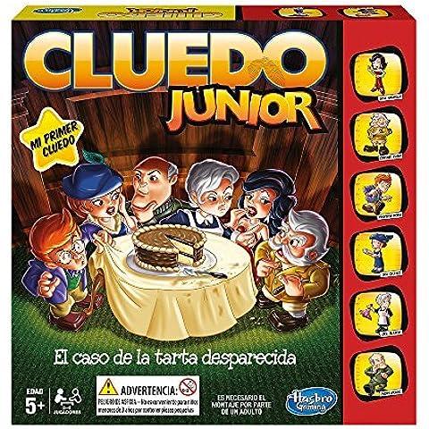 Hasbro Gaming - Juego de estrategia Cluedo Junior (B0335105) (versión española)