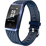 Willful Smartwatch Orologio Fitness Trakcer Donno Uomo Cardiofrequenzimetro da Polso Smart Watch Contapassi Impermeabile IP68