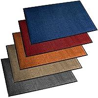 Felpudo de entrada ETM® Serie Premium | fortement absorbente + lavable | varios tamaños y colores a elegir), azul, 60 x 90 cm