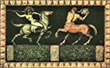 The Museum Outlet-Amazon and the Centaur by Franz von Stuck-Poster Print Online Buy (101,6x 127cm)