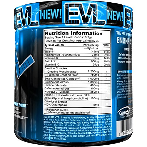 Evlution Nutrition ENGN nitraflex Pre-Workout Nahrungsergänzung