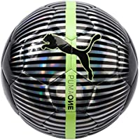 Puma One Chrome Ball, Primavera/Verano, Color Puma Silver/Puma Black/Fizzy Yellow, tamaño 5