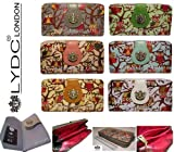 Genuine Ladies LYDC Purse Designer OWL print Patent Wallet Clutch With GIFT BOX