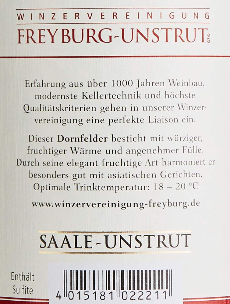 Winzervereinigung-Freyburg-Unstrut-Saale-Dornfelder-Halbtrocken-2015-6-x-075-l