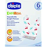 Chicco Disposable Bibs 40 Pcs 6M+ - Neutral