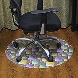 lililili Pvc-matte für teppiche,Büro-stuhl-matte für teppichböden,Stuhl schreibunterlage für teppich -E 60x90cm(24x35inch)