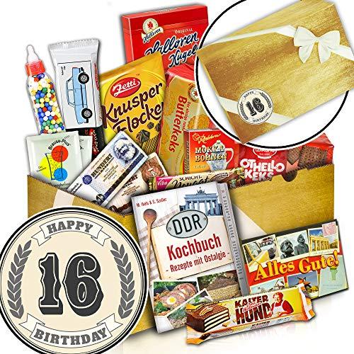 Ost Paket Süß + 16 Jubiläum Geschenk Idee + Geschenke 16. Geburtstag (Süß Ideen 16 Geburtstag)