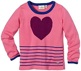 TOM TAILOR Kids Pull  Manches longues Fille - Rose - Pink (5428  soft orchid pink) - FR : 24 mois (Taille fabricant : 92/98)
