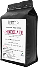 Jimmys Gourmet Kitchen Chocolate Muesli Loaded Chocolate Vegan Gluten Free 350gms