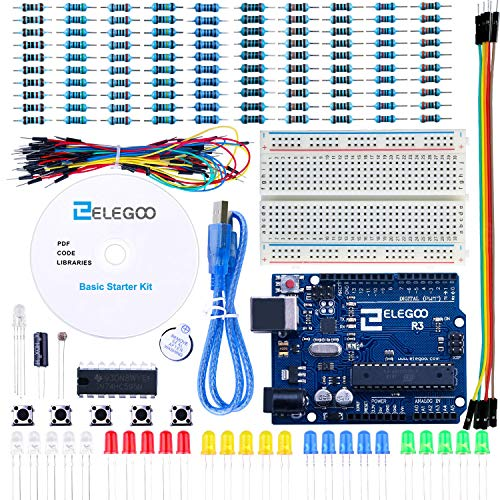 ELEGOO Conjunto Básico Iniciación Compatible Arduino
