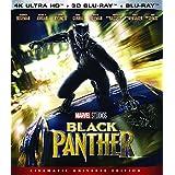 Black Panther UHD 4K + 3D BD + BD