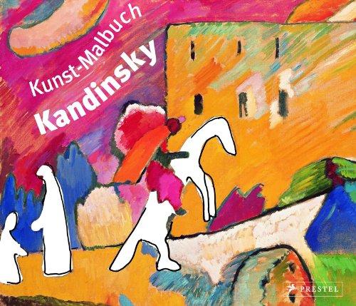 Kunst-Malbuch Wassily Kandinsky