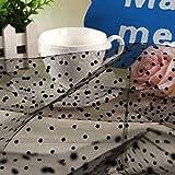 Zaione pois cuore organza tulle floccato net mesh Fabric dal cantiere larghezza 160cm materiale pizzo abito tutù da sposa tappezzeria da tavolo per cucire patchwork DIY Craft Cruz V2 Fresh Foam