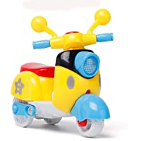 SUKHVILAS Enterprise Unbreakable Mini Motorcycle Vehicle Friction Powered Scooter Push and go Crawling Toys for Kids…