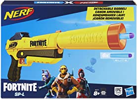 Nerf - Nerf Fortnite SP-L et Flechettes Nerf Elite Officielles