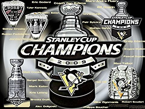 Pittsburgh Penguins Customized 32x24 inch Silk Print Poster Affiche de la Soie/WallPaper Great Gift