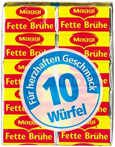 Maggi Fette Brühe, 10er Pack (10 x 5 l Karton)