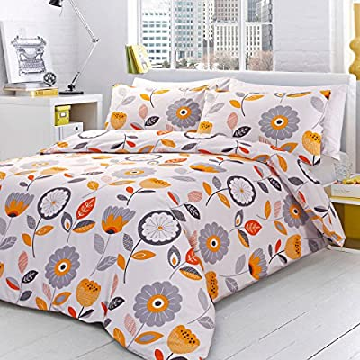 Pieridae Sunny Sensations Duvet Cover & Pillowcase Set Bedding Quilt Case Single Double King Bedding Bedroom Daybed - inexpensive UK light shop.