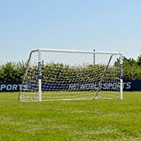 FORZA Alu60 Football Goal (8ft x 4ft) (Single or Pair) – the strongest and highest quality portable aluminium 5-a-side goal, meets all FA regulations and tested to BS EN 8462 standard [Net World Sports]