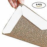 Pawaca Teppichgreifer Antirutschmatte für Teppich waschbar wiederverwendbar Teppichunterlage Teppichstopper -