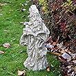 old garden gnome