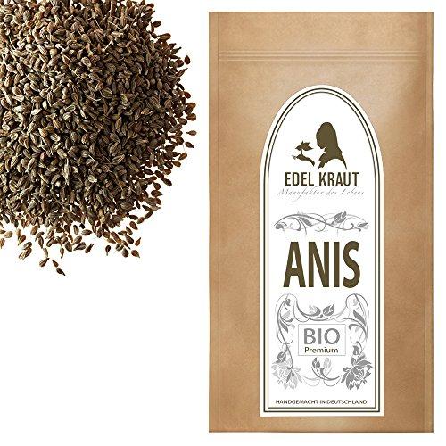EDEL KRAUT | BIO Anis ganz - Premium anise organic 1000g (Bio-fenchel-samen-pulver)