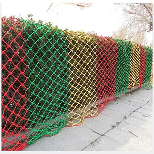 Bergsteigenetz, Kindertreppenbalkon Anti-Fallnetz Deckenfarbe Dekorationsnetz Gartenzaunnetz Haustiernetz Frachtnetz Schutznetz Schaukel Hängematte (Size : 4 * 6M(13 * 20ft))