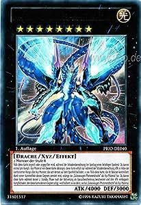 PRIO-DE040 Nummer 62: Galaxieaugen-Urphotonendrache Ultimate Rare 1. Auflage + Free Original Gwindi Card-Sleeve