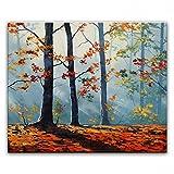 STJK$BMJW Hand Gemalte Ölbild Landschaftsmalerei Messer Wohn Dekoration Foto 40 X 50 Cm (Nur Leinwand)
