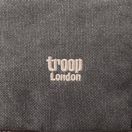 Troop London, Borsa a spalla uomo Washed Black