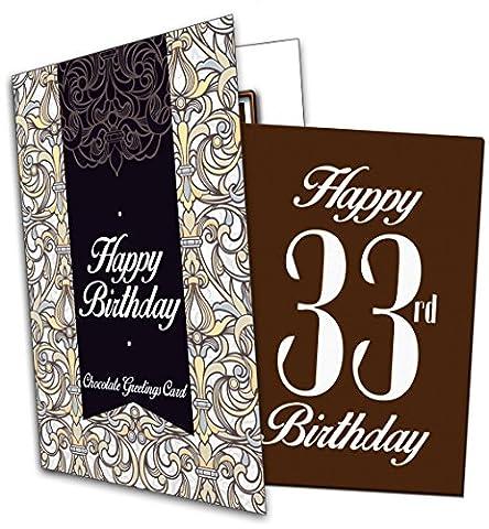 'Bonne Chance pour 33E anniversaire (