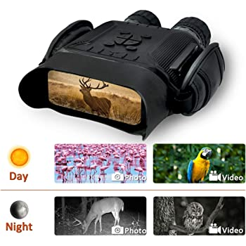 Night Vision Binoculars - Night Vision up to 60 m and