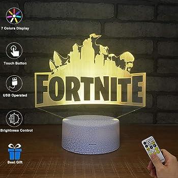 3d Illusion Nuit Lumiere Win Y Led Bureau Table Lampe 7 Couleur
