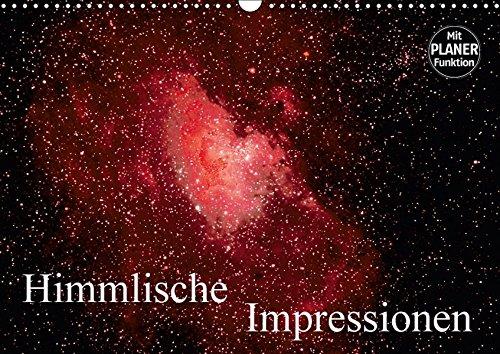 Himmlische Impressionen (Wandkalender 2017 DIN A3 quer): Fotografien von Mond, Sternen, Galaxien und Nebeln (Geburtstagskalender, 14 Seiten) por MonarchC