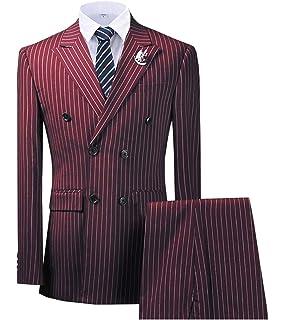 Longra Herren Anzug Regular Fit Business Anzüge 3 Teilig