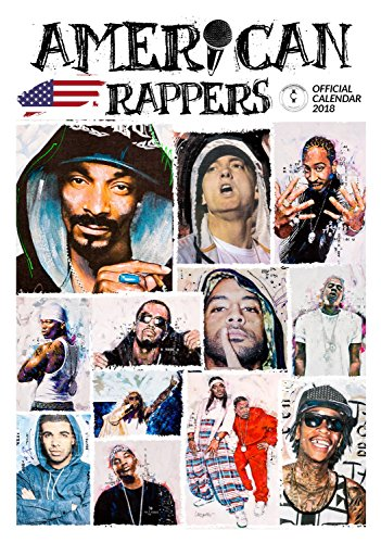 Imagicom imacal215American Rapper Wall Calendar, Paper, White, 0.1X 30.5X 42.5Cm