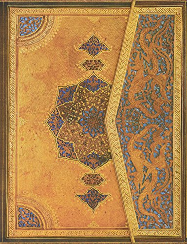 Safawidische Bindekunst - Notizbuch Groß Liniert - Paperblanks